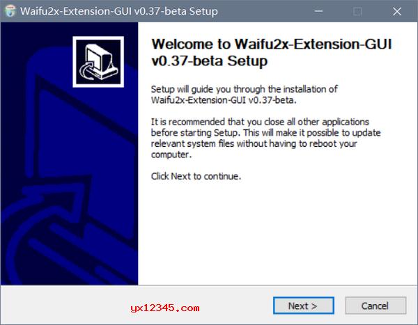 Waifu2x-Extension-GUI放大图片尺寸教程