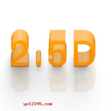 点击 窗口-扩展功能- 2.5D+Generator+2.0 选择一个方向,就会出效果了