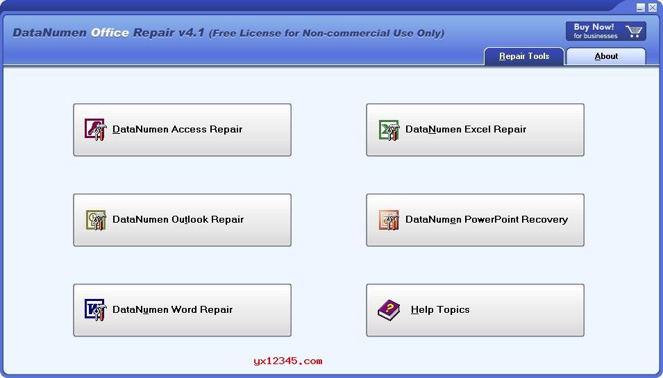 DataNumen Office Repair_Access\Excel\Word\OutLook\office文件修复工具