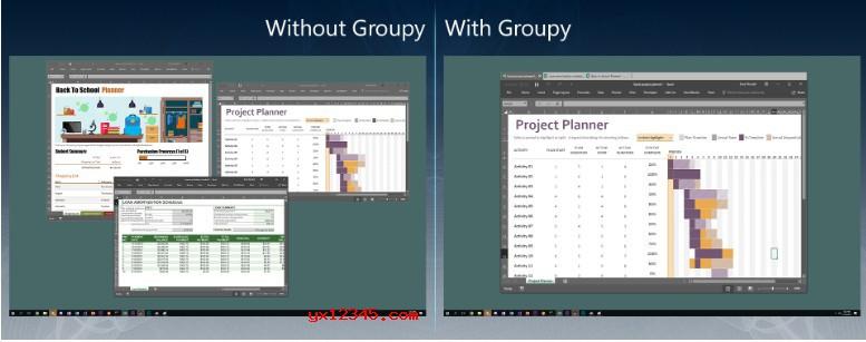 Stardock Groupy中文免注册码版_Windows窗口管理与功能增强软件