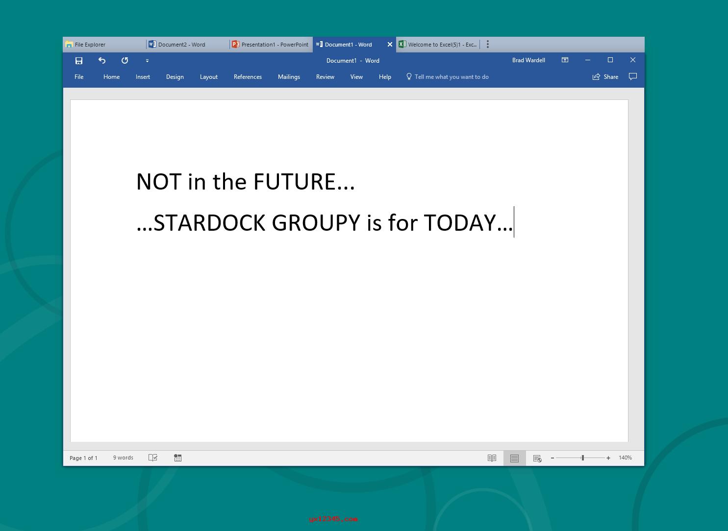 Stardock Groupy效果3
