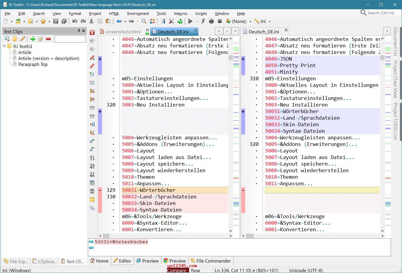 rj texted中文绿色版_多功能文本和源代码编辑器
