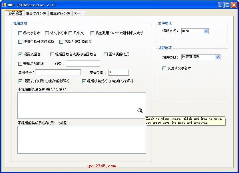HDS JSObfuscator免注册码中文版_JS代码压缩、混淆和加密工具