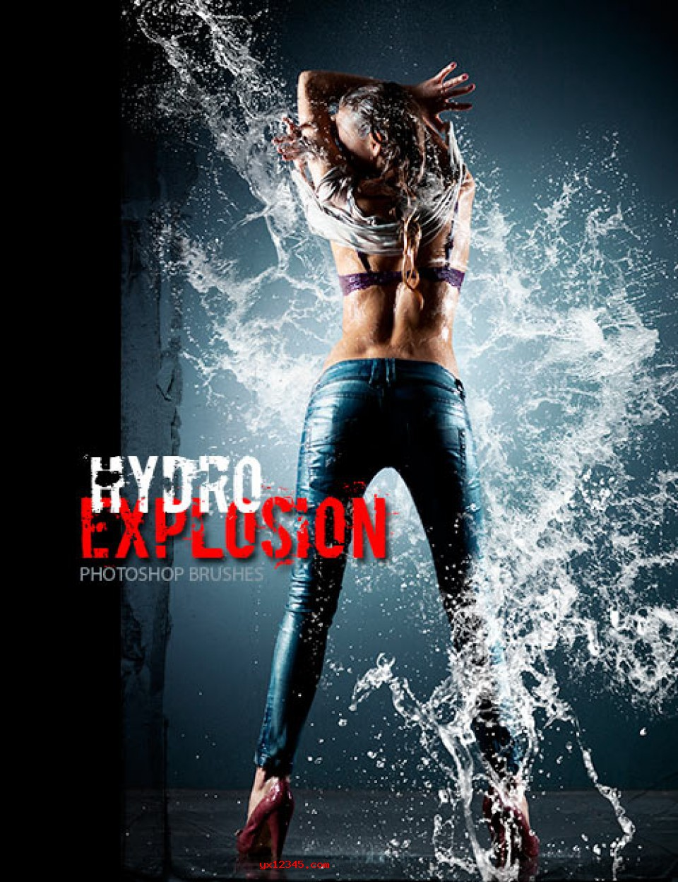 Rons PS水笔刷_Ron's Hydro Explosion Brushes