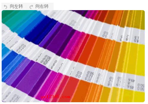 电子色谱海报