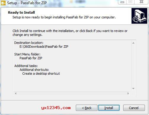 点击install按钮开始正式安装