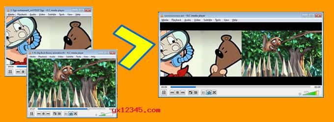 Dual Screen Video Maker软件海报