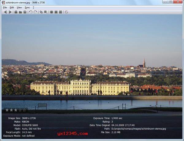 nomacs免费看图软件_带剪裁、旋转、调整大小等图片编辑功能