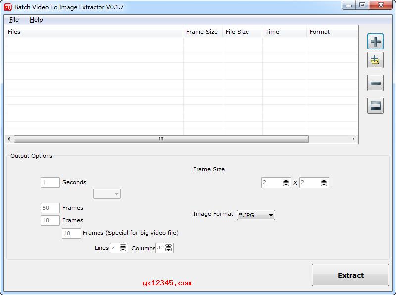 视频转图片、视频提取图片软件_Batch Video To Image Extractor