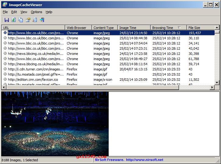 ImageCacheViewer官方主界面截图
