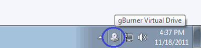gBurner Virtual Drive挂载映像文件教程