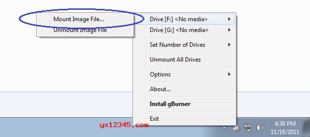 """浏览并选择要挂载的CD / DVD映像,最后点击""""确定""""就OK了。"""