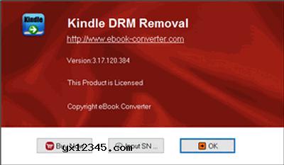 """运行Kindle DRM Removal,点击添加按钮将需要删除drm保护的Kindle电子书添加进去,随后只需单击""""删除DRM""""按钮即可完成破解。"""