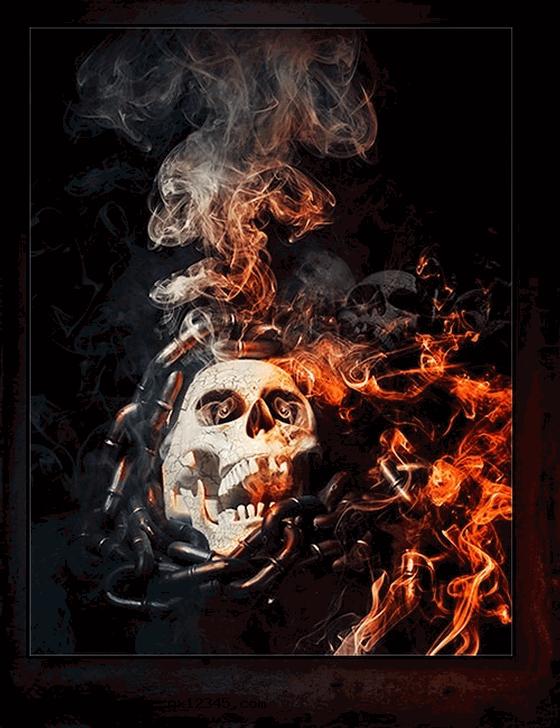 烟雾、火焰、燃烧效果1