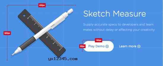 Sketch Measure插件海报