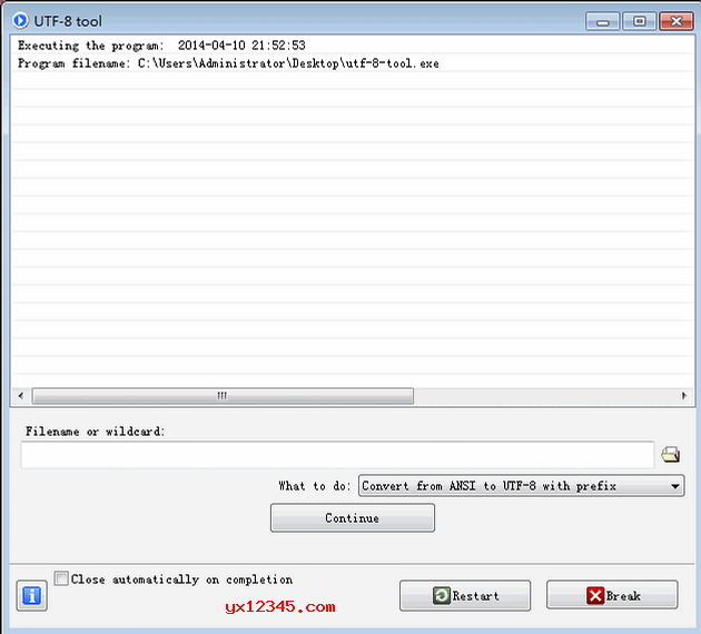 utf8转ansi与ansi转utf8工具_UTF-8 Tool