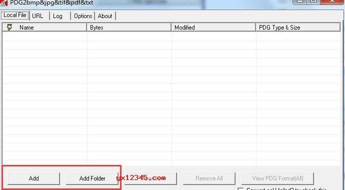 pdg2bmp+jpg+tif+pdf+txt软件使用教程