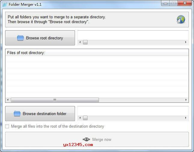 Folder Merger文件夹合并软件_批量合并多个文件夹内的文件