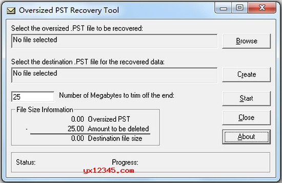 PST文件修复软件_pst recovery tool_可修复2G以上损坏的pst文件