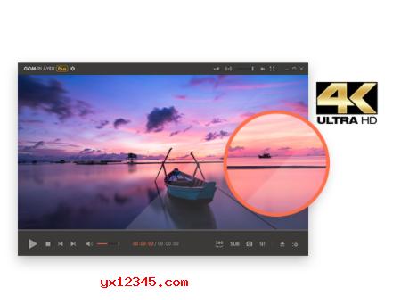 流畅播放UHD,4K视频