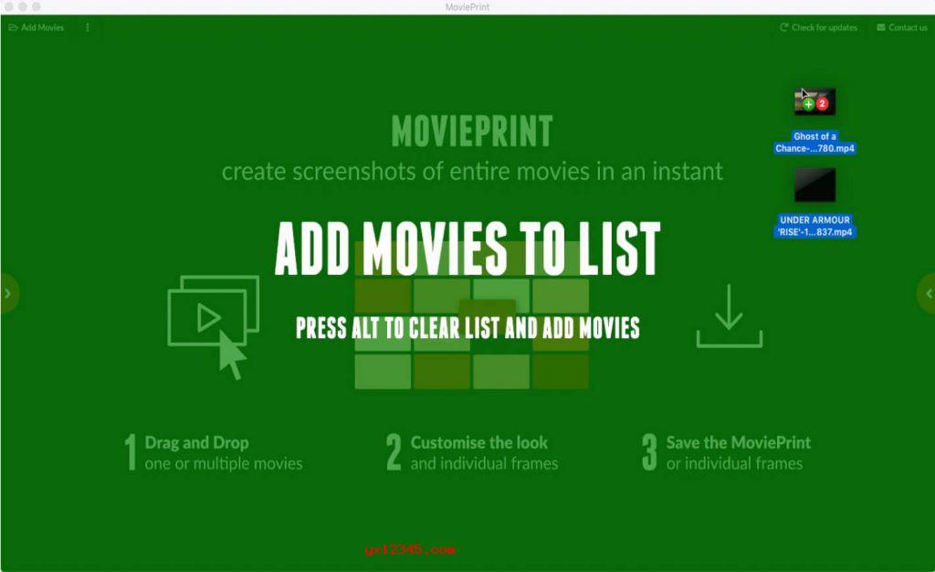 MoviePrint影片缩略图软件使用教程