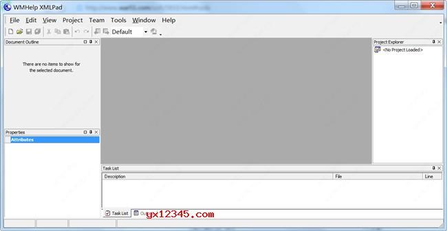 注册成功后,双击XmlPad.exe即可开始使用了。