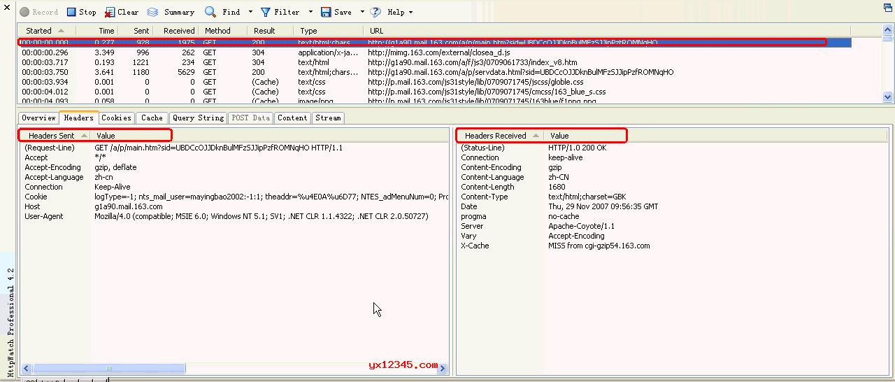 HTTP抓包与Web分析调试工具_HttpWatch中文汉化破解版