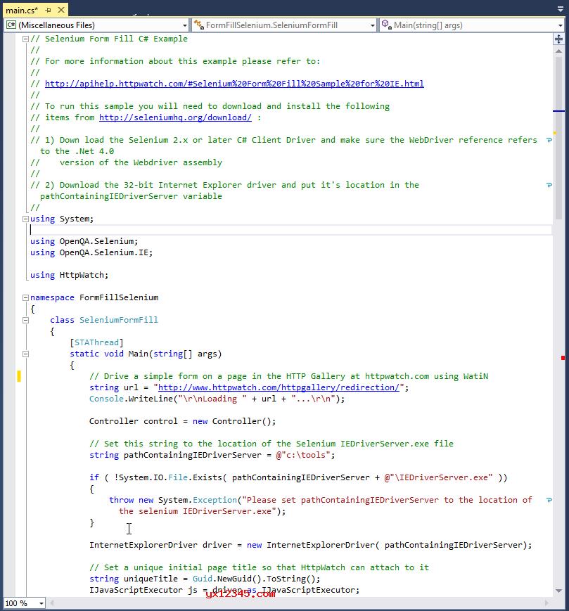 检测HTTP性能并检测错误