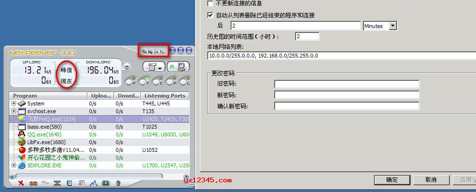 netpeeker破解版_应用程序和进程监控与限速软件