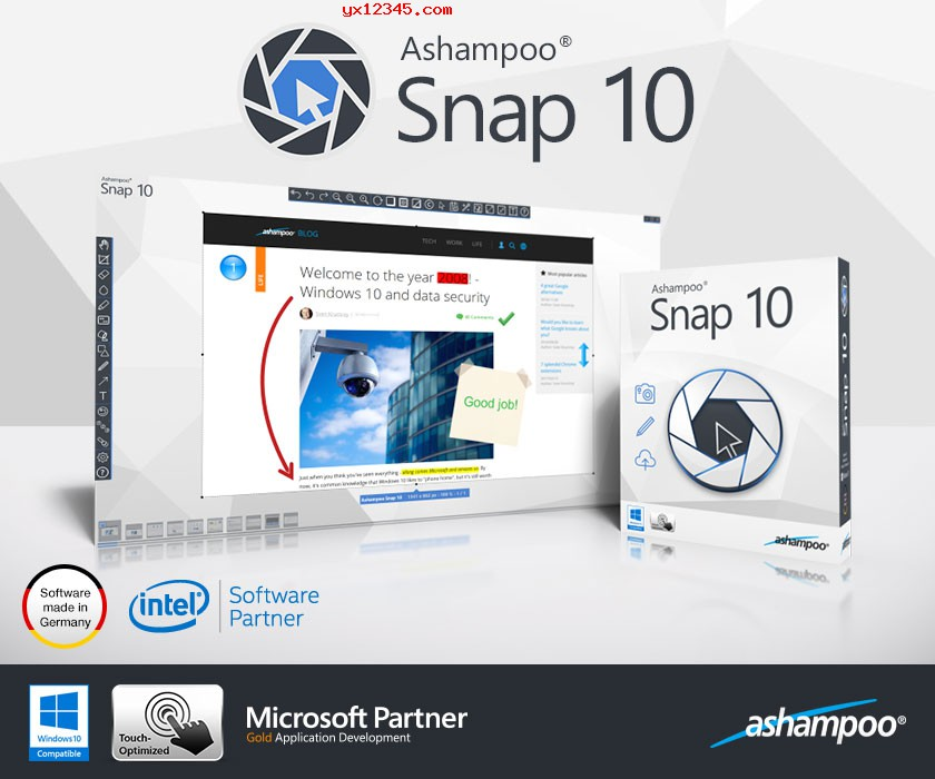 Ashampoo Snap 12海报