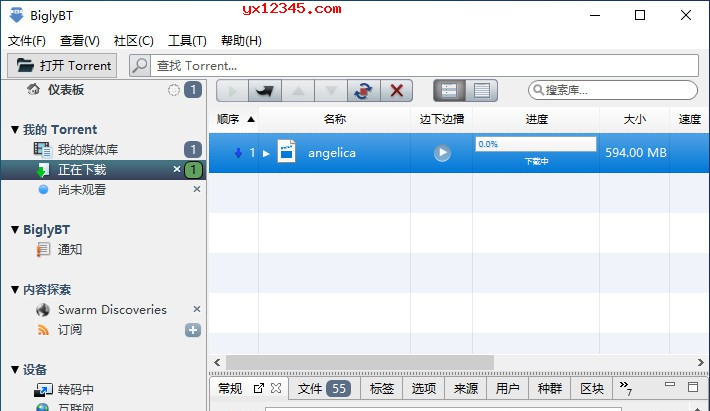 BiglyBT中文版_免费开源的bittorrent客户端、bt下载软件