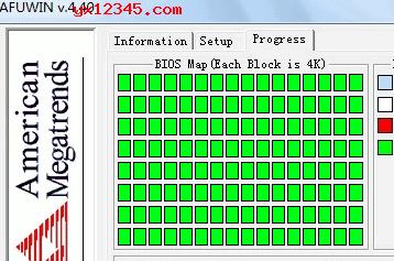 "按""FLASH""进行BIOS刷新,AFUWIN程序能自动清除,刷新"