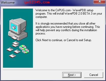 wavepdb安装教程