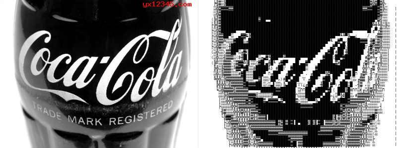 ASCII字符画效果欣赏