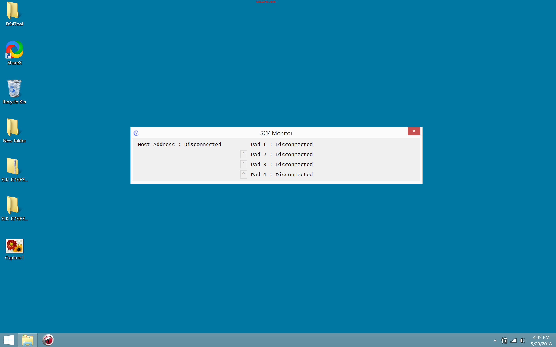 SCP监控器界面截图