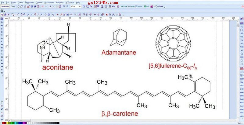 chemsketch化学结构绘制工具_画化学结构式的软件