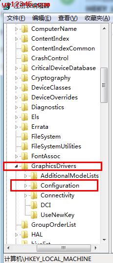 选择GraphicsDrevers中的configuration
