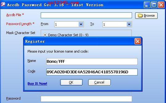 """打开软件,点击""""Register""""按纽,输入注册信息激活。"""