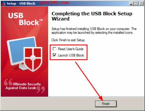 USB Block安装激活教程
