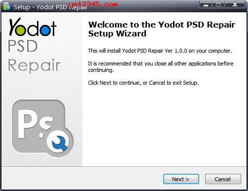 Yodot PSD Repair安装教程