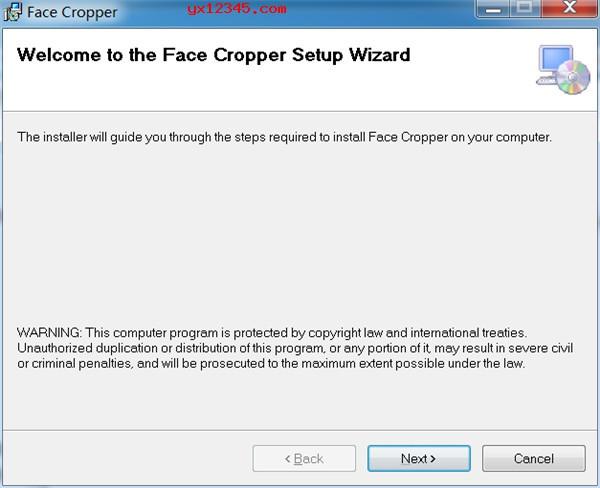 Triacies Face Cropper中文汉化版安装教程