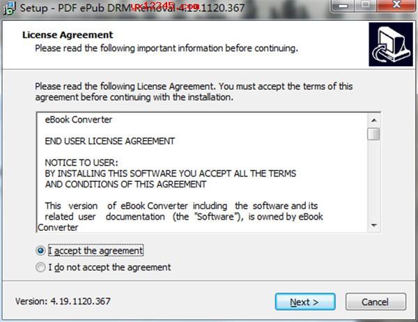 PDF ePub DRM Removal中文免费版安装教程