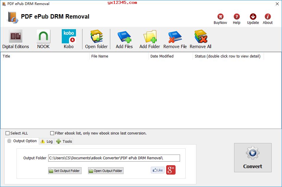 PDF ePub DRM Removal删除DRM保护教程