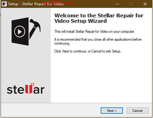 Stellar Repair for Video软件安装破解教程