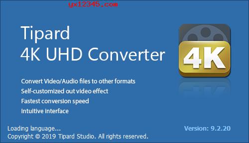Tipard 4K UHD Converter软件海报