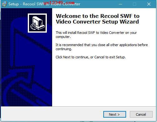 Recool SWF to Video Converter安装破解教程