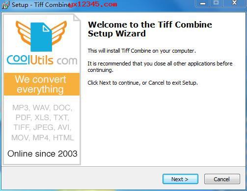 Coolutils Tiff Combine安装教程