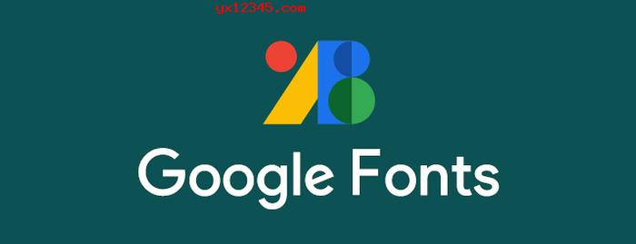 Google Fonts免费开源字体本地完整包下载