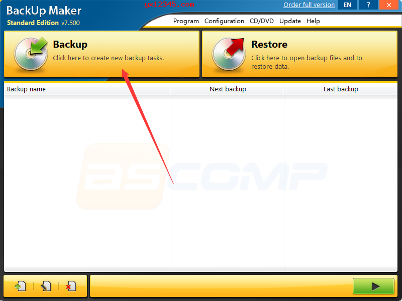 Backup Maker数据备份教程
