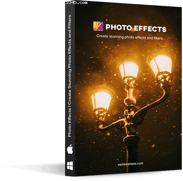 Vertexshare Photo Effects软件海报